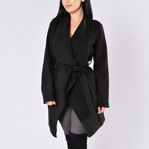Black Tie Waist Coat
